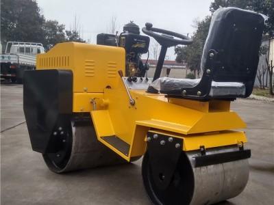出售压路机工程地基压实机座驾式双轮压路机