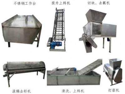 冬瓜机,冬瓜加工机器设备,全自动冬瓜蓉加工流水线
