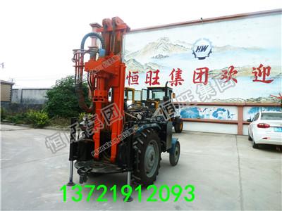 50马力气动打井机 200米气动拖拉机钻机