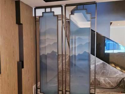 家装屏风隔断|不锈钢屏风花格|金属隔断厂家