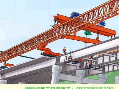 山西忻州钢结构桥梁加工临时墩组装技术
