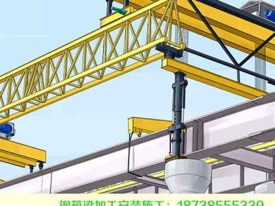 辽宁抚顺钢结构桥梁加工顶推前试顶工作
