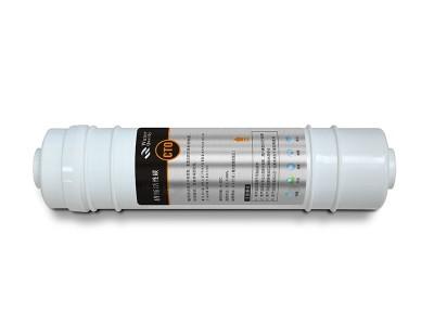 韩式一体快接滤芯CTO压缩活性碳10寸滤芯