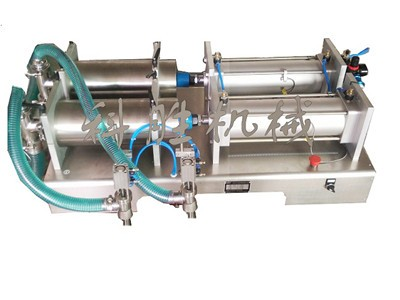 衡水科胜双头液体灌装机|大剂量安梨汁灌装机|河北灌装机