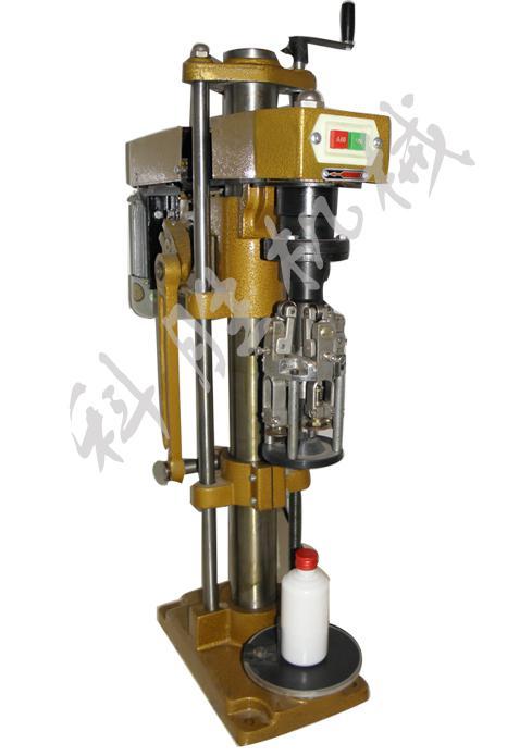 衡水科胜白酒瓶压盖机多功能锁口机铝盖压盖机