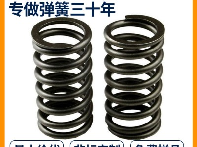 定制各种压缩弹簧五金玩具压簧不锈钢弹簧镀锌镀镍圆柱螺旋小弹簧