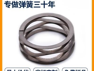辉簧弹簧非标定制不锈钢波形弹簧 304波形弹簧 汽车波形弹簧