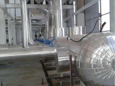 换热站白铁皮保温施工队设备蒸压釜铝皮保温工艺